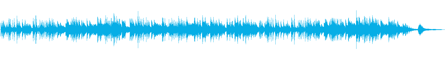 童謡「赤とんぼ」ピアノソロ和風ヒーリングの再生済みの波形