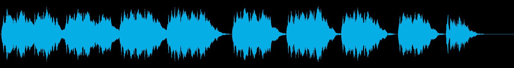 独奏弦楽器による妖しい旋律の再生済みの波形