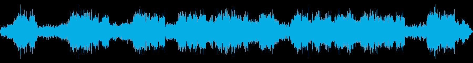 蛙、雨【夏、夜】の再生済みの波形