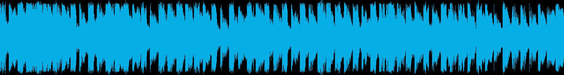 エレクトロニック シンセサイザー ...の再生済みの波形