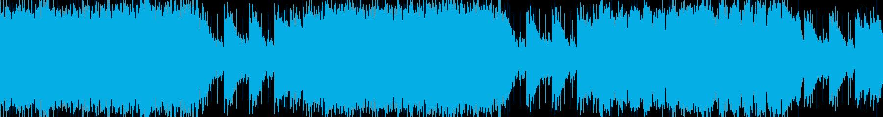日本の祭(太鼓、琴、笛)【ループ】の再生済みの波形