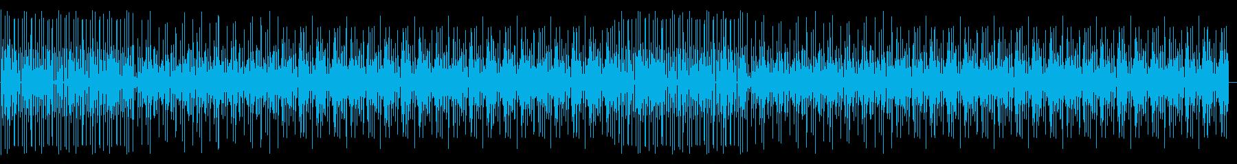 理系、技師、レトロで無機質なBGMの再生済みの波形