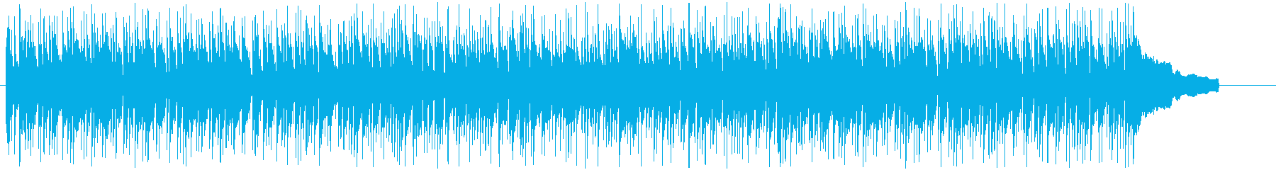 まどろみと安らぎを感じる休日のボサノバの再生済みの波形