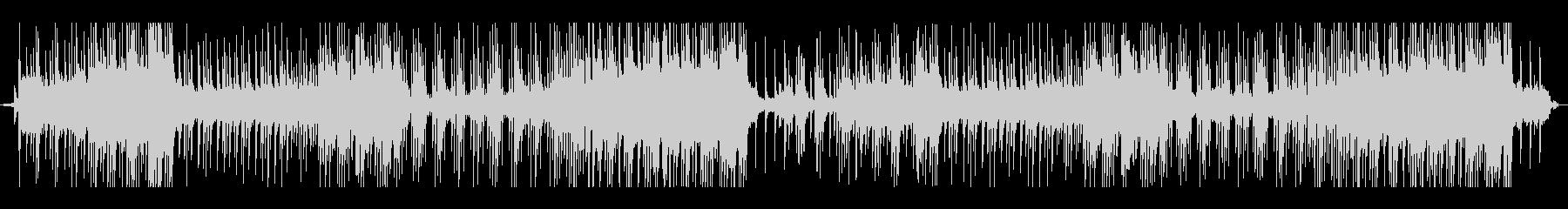 ベル音で軽快なサウンドトラックの未再生の波形