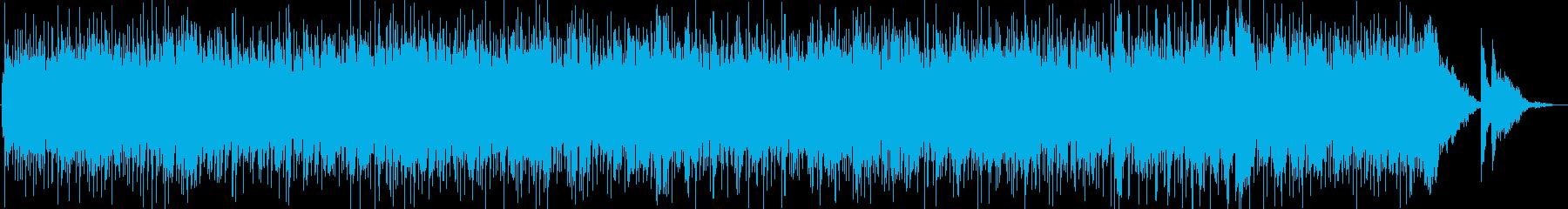 さわやか系ピアノ曲の再生済みの波形