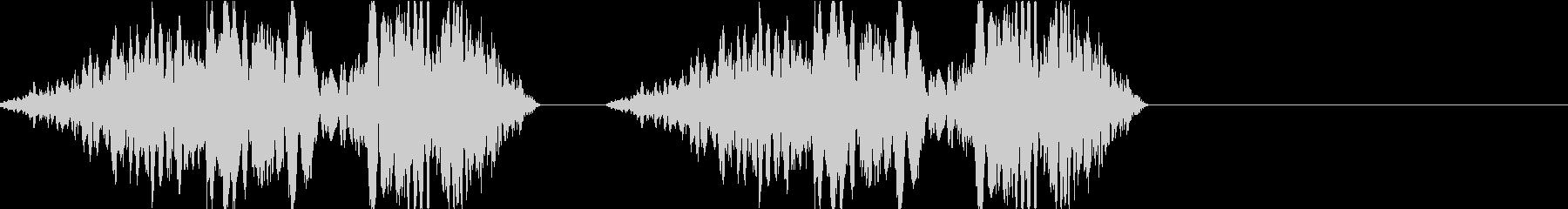 DJプレイ スクラッチ・ノイズ 198の未再生の波形