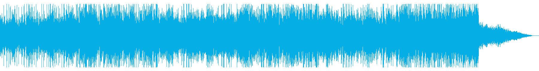 デジタルでサスペンシブなアンビエントIDの再生済みの波形