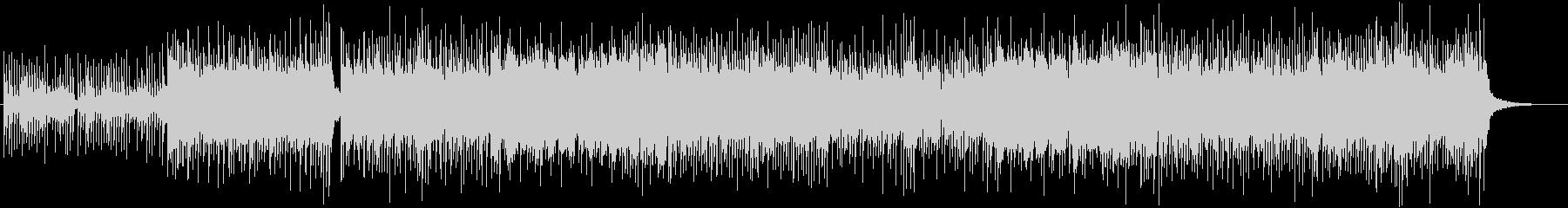 和風、三味線メタル2、激しい(声なし)bの未再生の波形