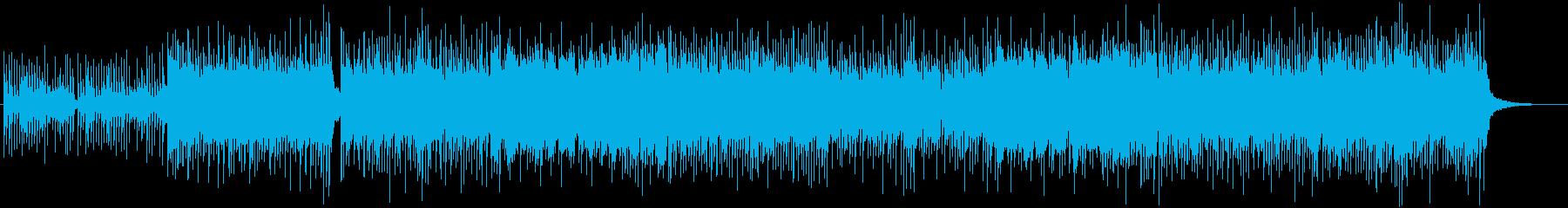 和風、三味線メタル2、激しい(声なし)bの再生済みの波形