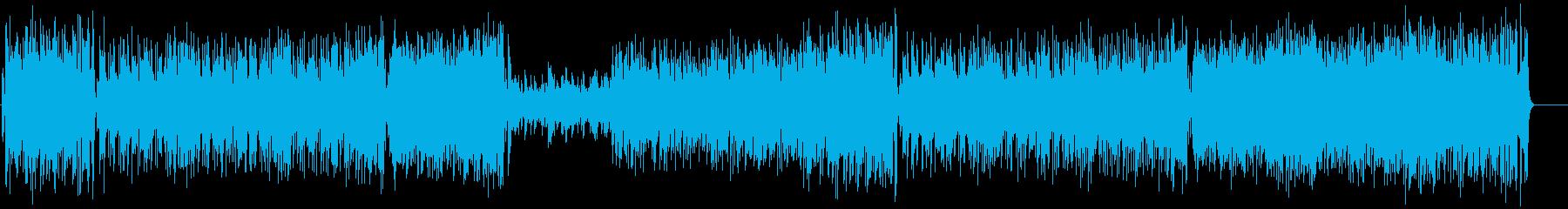 しなやかなフレーズのライト・フュージョンの再生済みの波形