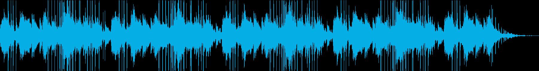 ゆったりした綺麗なエレクトロの再生済みの波形