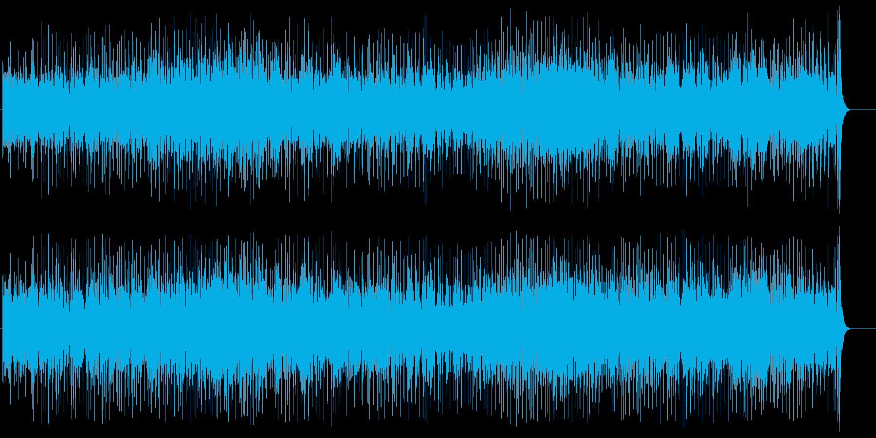 チャイナ&ジャパンムードのフュージョンの再生済みの波形