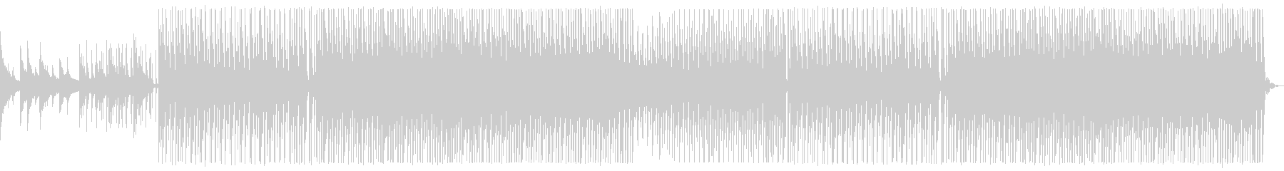 The end of summer. Tropical house_2's unreproduced waveform