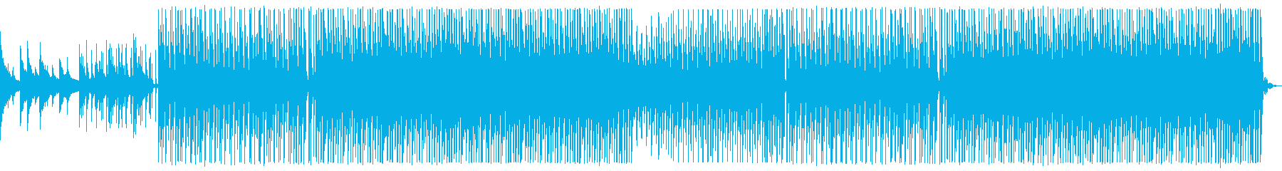 The end of summer. Tropical house_2's reproduced waveform