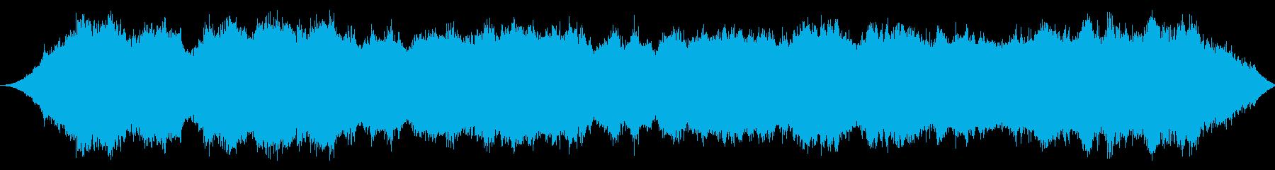 2ストロークブラシカッター:作業の再生済みの波形