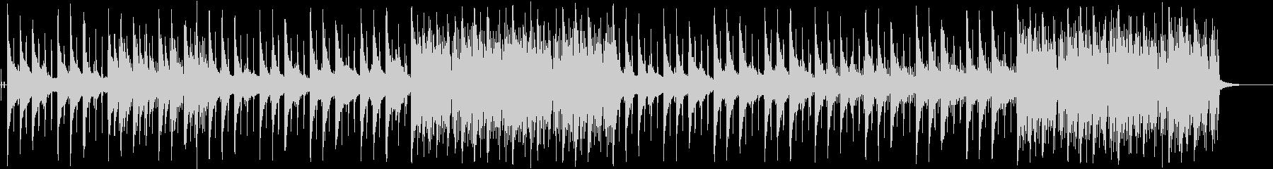 チルアウト、lofiの未再生の波形
