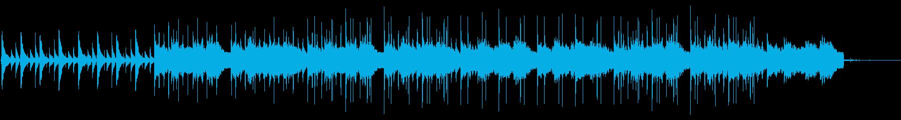 朝に溶けていくLofi HipHopの再生済みの波形
