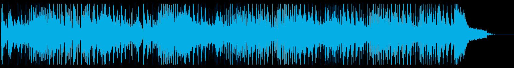 知的でシンプルなジャズの再生済みの波形