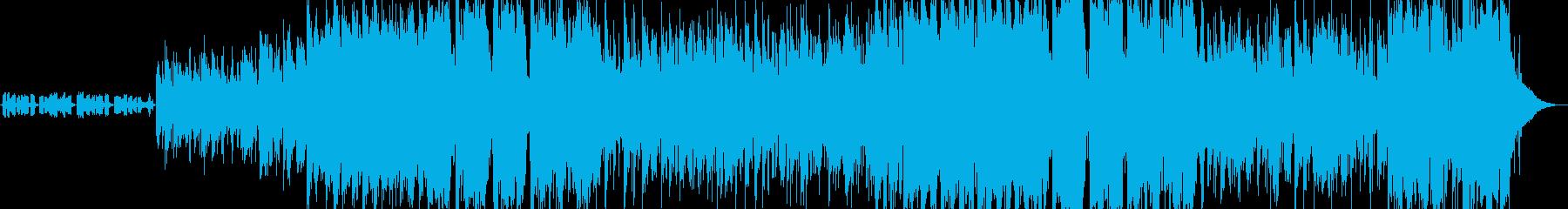 童謡「もみじ」のフュージョンアレンジの再生済みの波形
