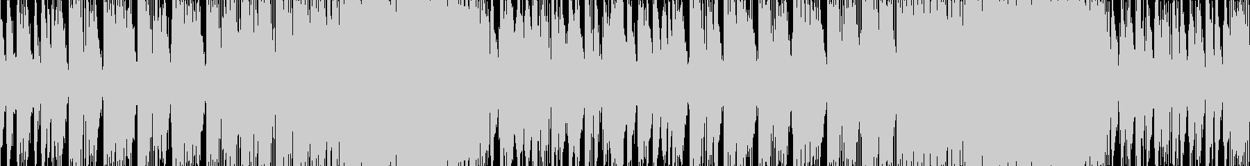 三味線、和太鼓、笛で江戸の激しさを表現の未再生の波形