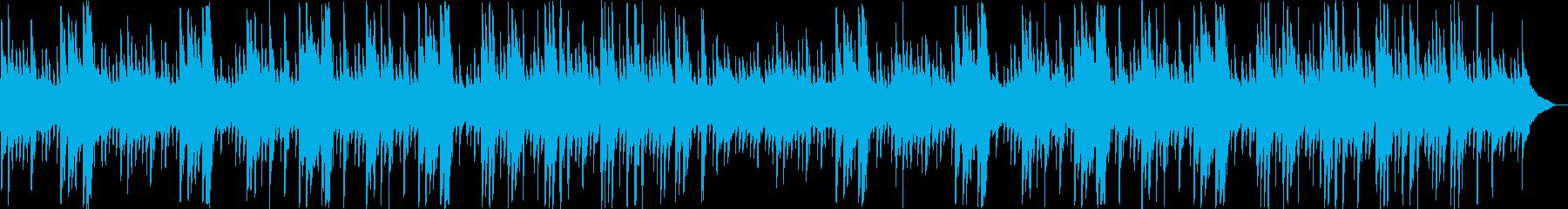 ゆっくりと優しいピアノギターサウンドの再生済みの波形