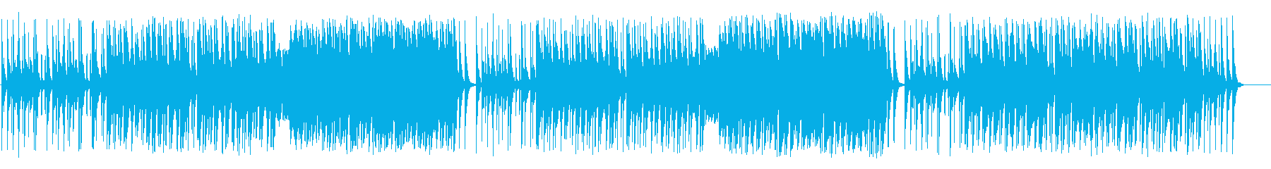 Comical BGM like Summer Festival's reproduced waveform