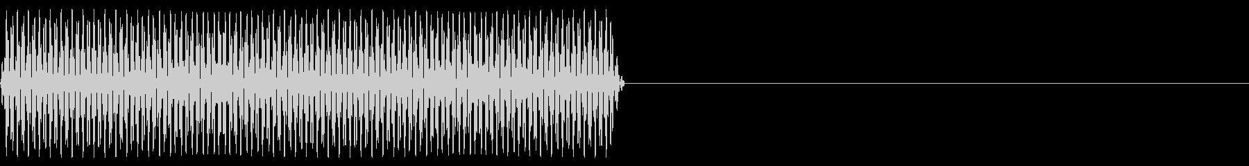 『ピッ』電話のプッシュ音(A)-単音の未再生の波形