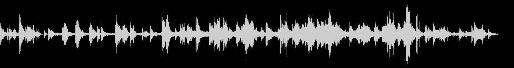 ロシア民謡アレンジ~ピアノ別れのバラードの未再生の波形