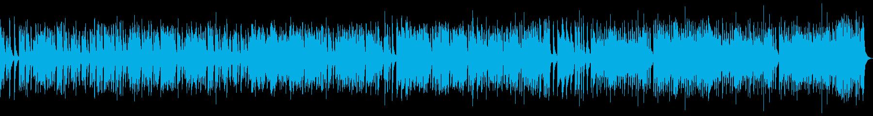 クッキング動画のBGMに最適3分の曲の再生済みの波形