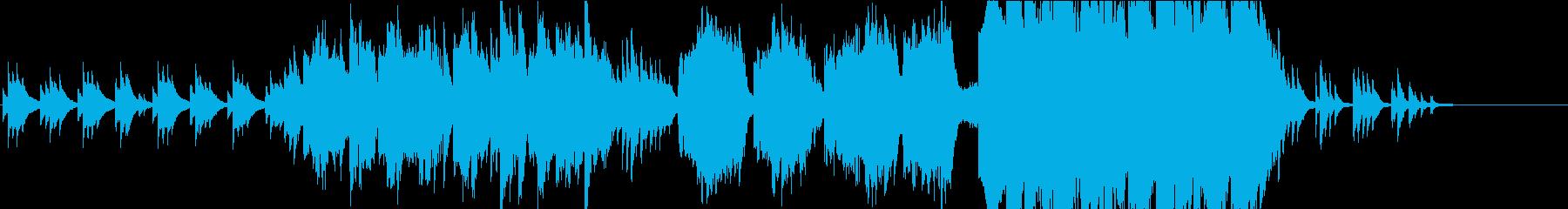 【生演奏】フルートとピアノ主体の和風曲の再生済みの波形