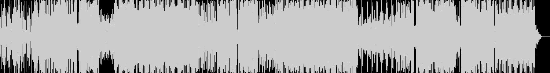 ロボット調の近代的なダンス楽曲/BGMの未再生の波形