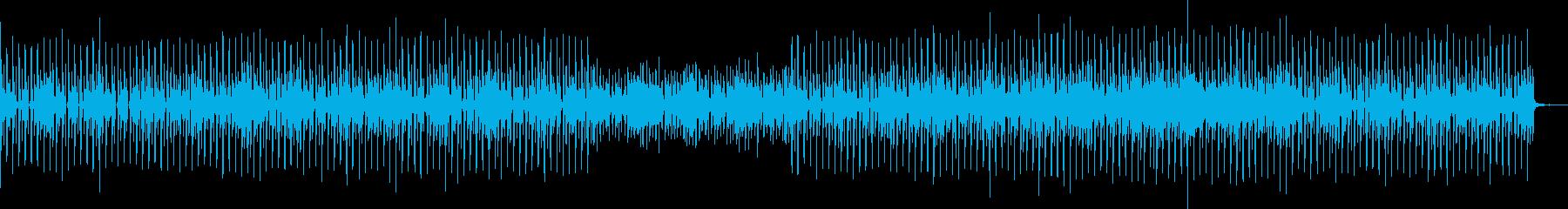 スピード感あってわくわくするメロディーの再生済みの波形