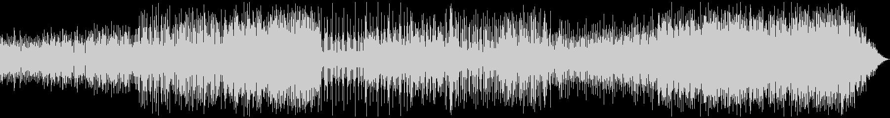 ダークヒロイン テクノ+テクニカルドラムの未再生の波形