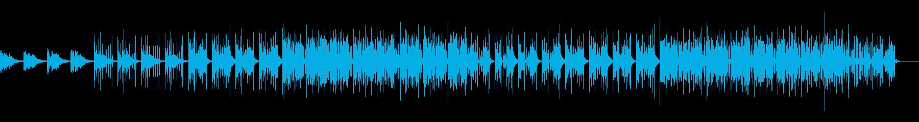 かわいい、ゆるい、コミカル-01の再生済みの波形