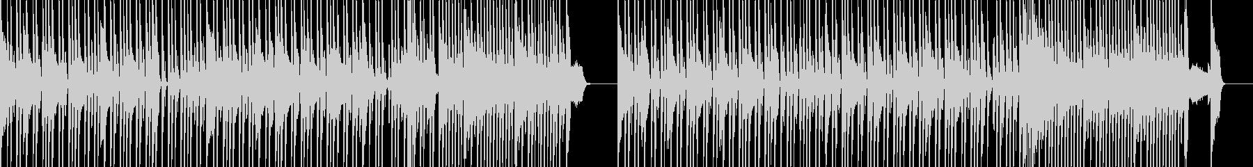 スピード感ある響きが特徴的なメロディーの未再生の波形