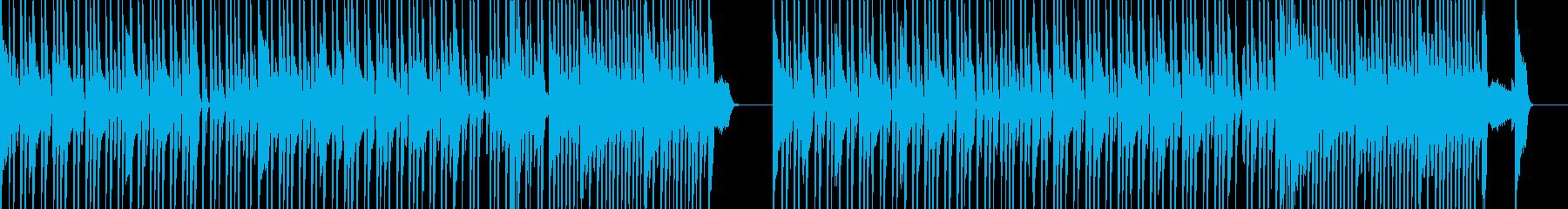 スピード感ある響きが特徴的なメロディーの再生済みの波形