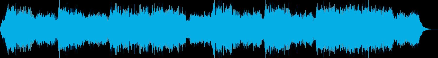 民族的・幻想的メロディアスなジングルの再生済みの波形