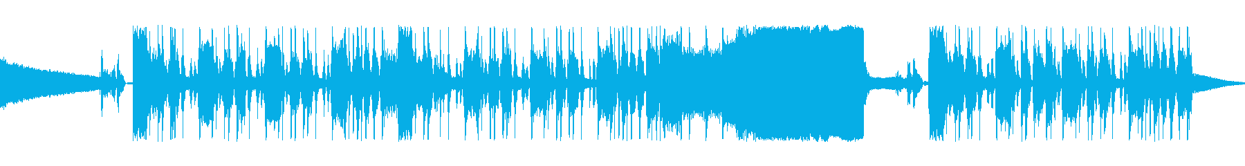 ファンキーでブルージーなジングルの再生済みの波形