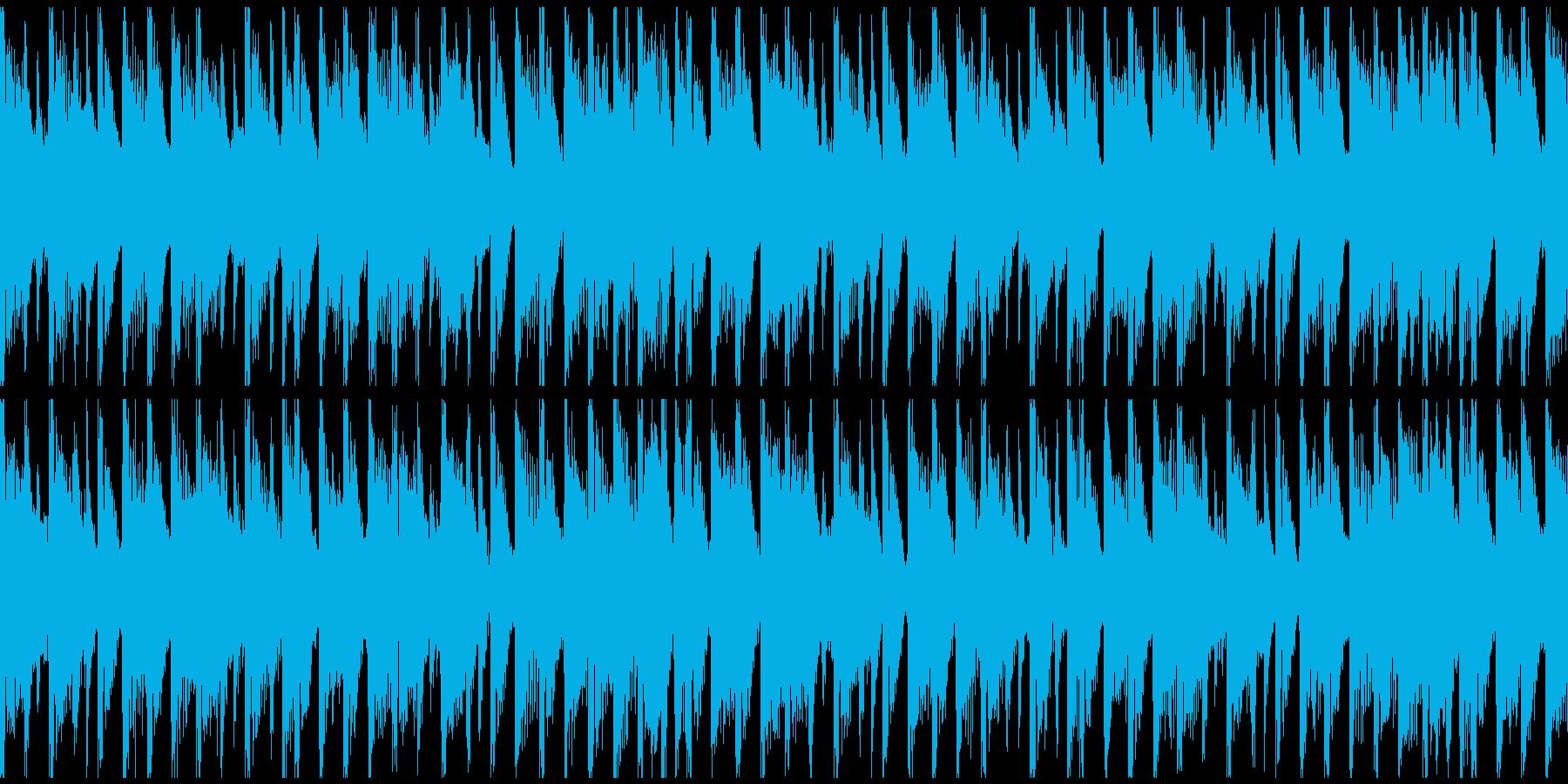 フィットネスモチベーション(ループ)の再生済みの波形