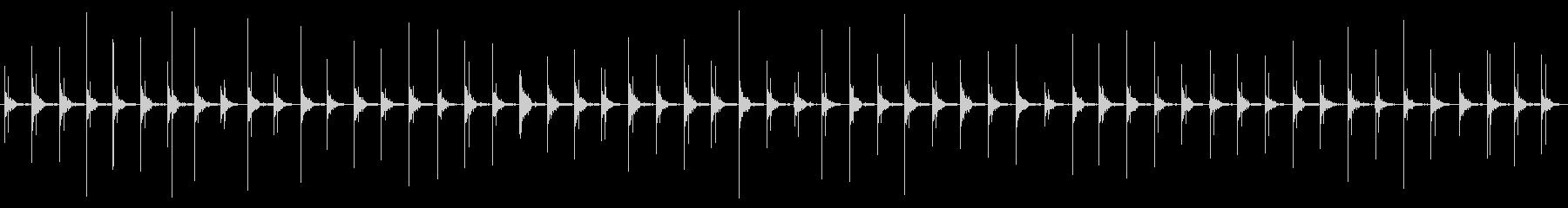 ウッドフロア:軽いランニングシュー...の未再生の波形
