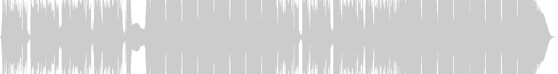 スタイリッシュな明るいロックの未再生の波形