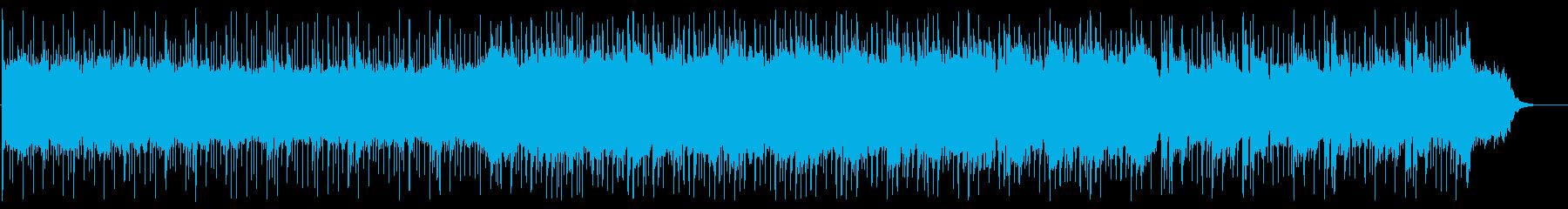沖縄の星空をイメージしたまったりした曲の再生済みの波形