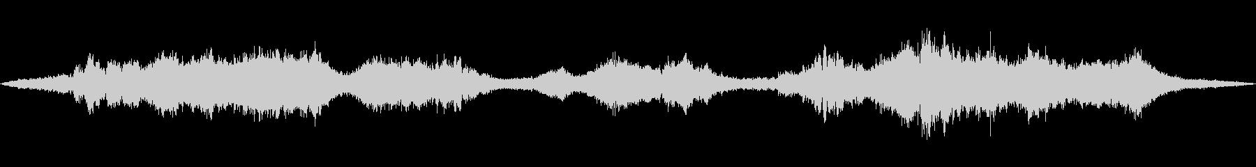 【環境音】道路の音(環状八号線)の未再生の波形