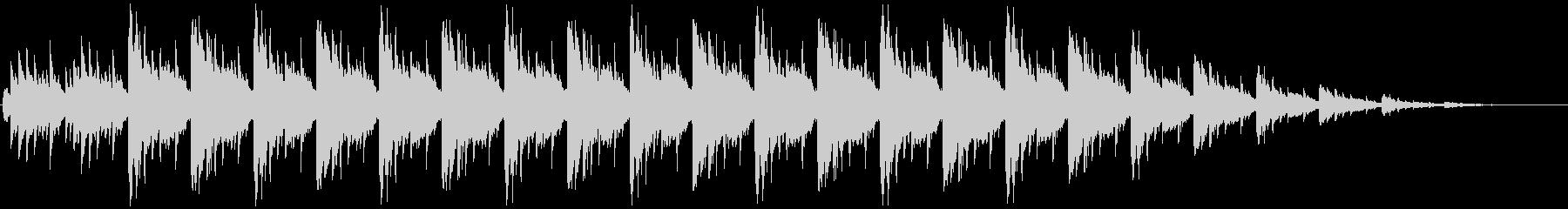 バリ島での祭りをイメージした電子音楽ですの未再生の波形