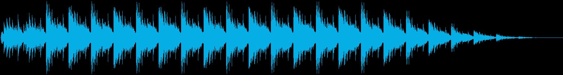 バリ島での祭りをイメージした電子音楽ですの再生済みの波形