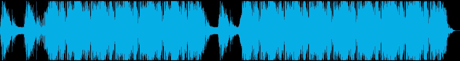 エレキギターの音色が幻想的なHIPHOPの再生済みの波形
