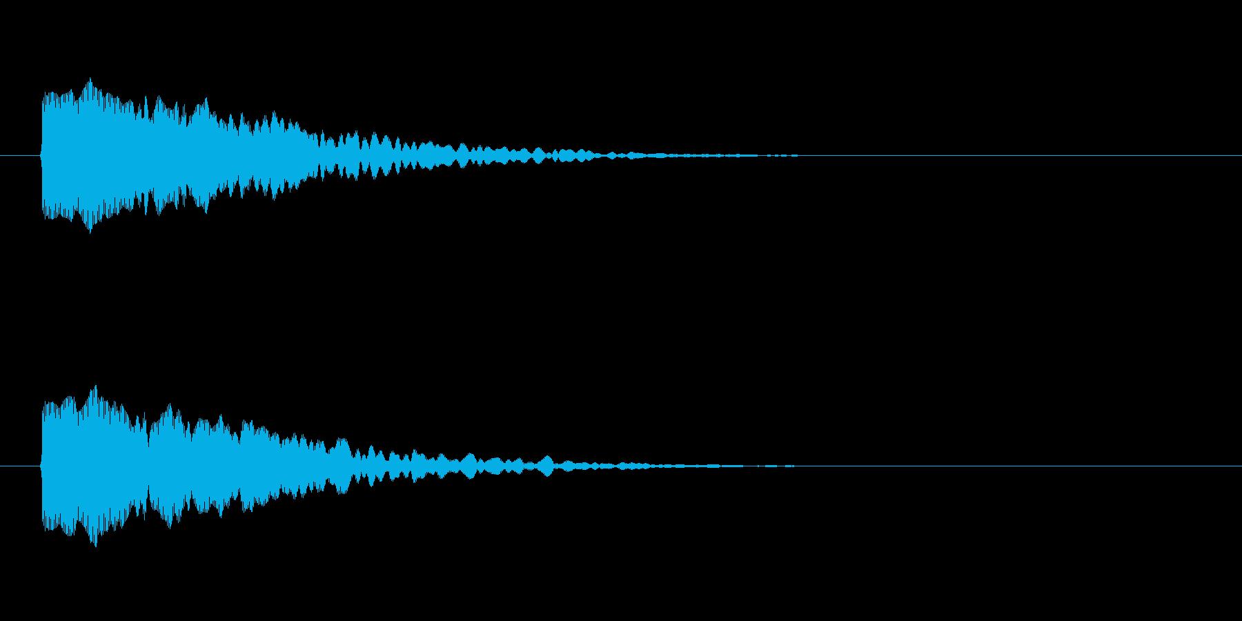 【光る02-1】の再生済みの波形