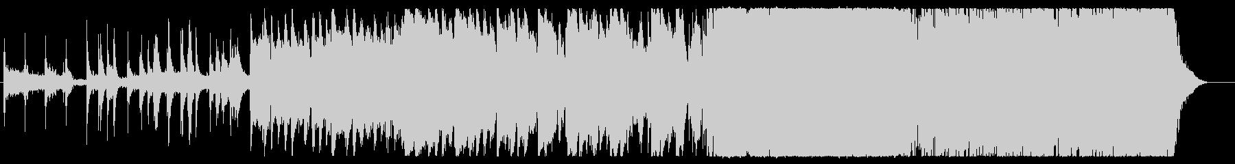 近未来的な3拍子の和風HIPHOPの未再生の波形