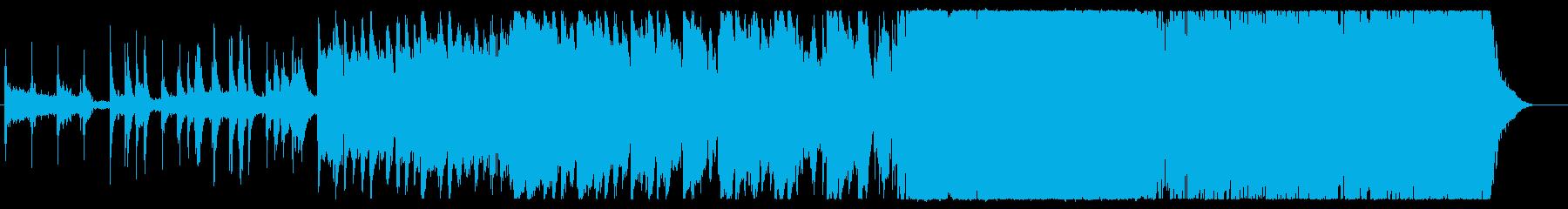 近未来的な3拍子の和風HIPHOPの再生済みの波形