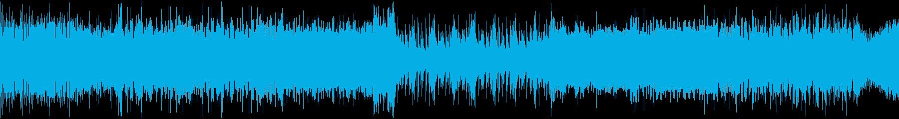 RPG戦闘ピコピコ→ストリングス ループの再生済みの波形